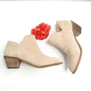 Kelsi Dagger Faux Fur Lining Ankle Boots 8